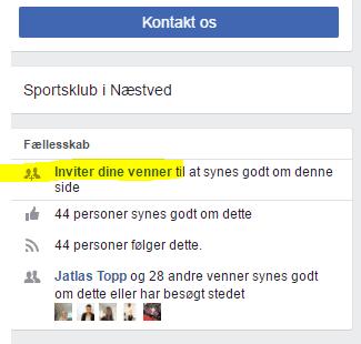 , Følg Kvik Næstved på Facebook